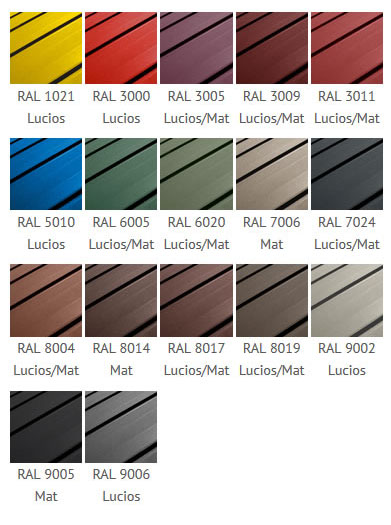 Paletar culori tabla click Wetterbest